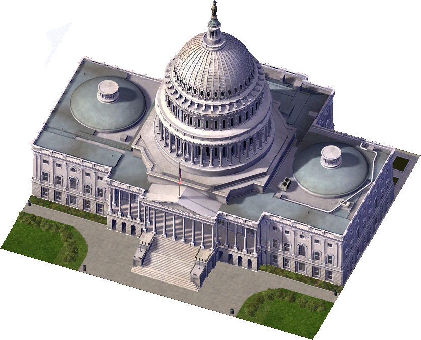 Sims  Government Buildings