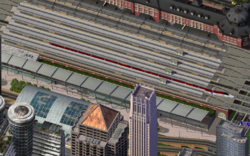 The Bullet Train Mod and Tokyo Station.